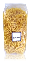 corn and rice speciality: fusilli 500g - 1.1lb