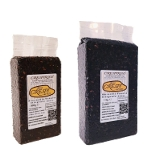 Venere black Rice packages 1kg - 2.2lb and 0.5kg - 1.1lb vacuum packed