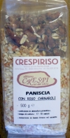 500g - 1.1lb  Risotto italian Paniscia (Piedmont Typical dish) - protective atmosphere package (long conservation)